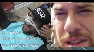 L.A. BEAST AFTER DENTIST & LASER EYE SURGERY