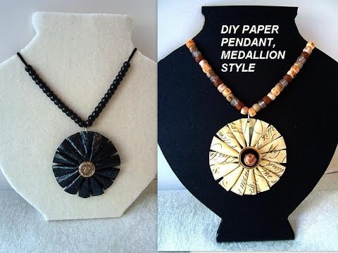 Jewelry Design how to create a paper