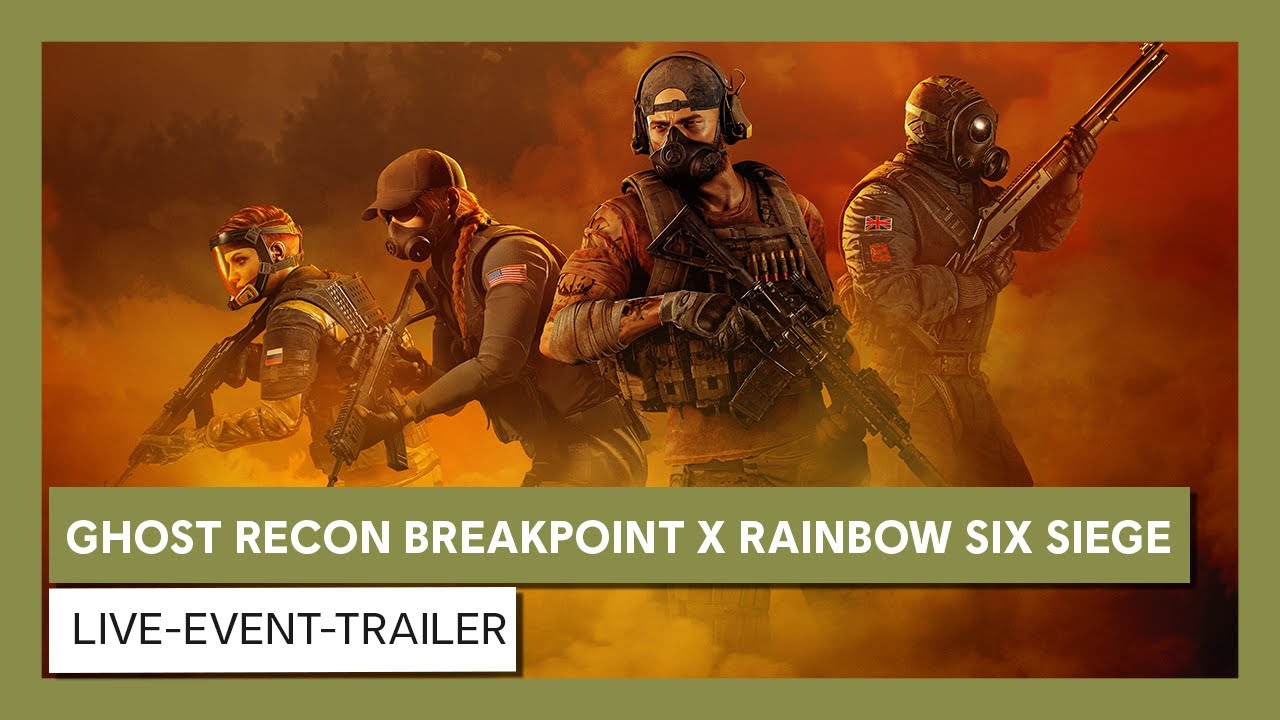 Ghost Recon Breakpoint X Rainbow Six Siege: Live-Event-Trailer | Ubisoft