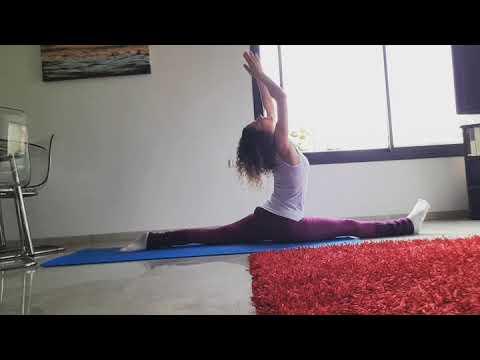 hanumanasana split yoga יוגה  youtube