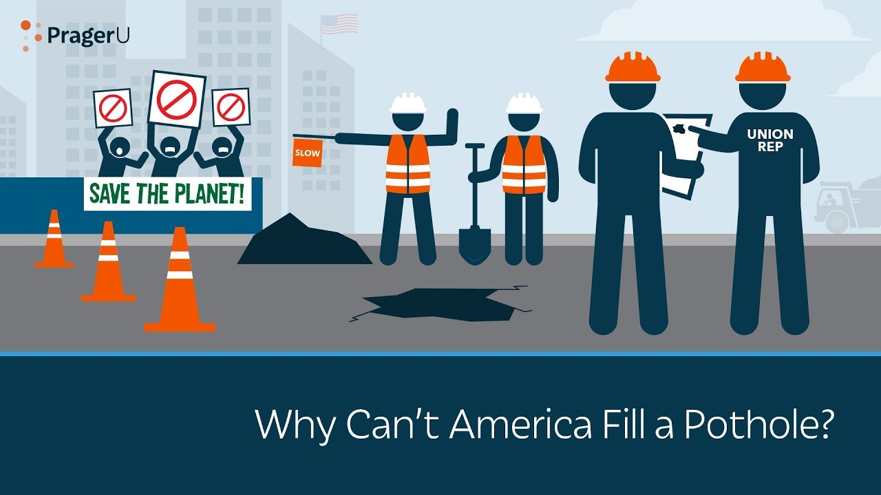 Why Can't America Fill a Pothole?