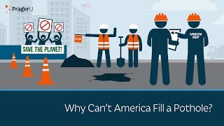 Why Cant America Fill A Pothole