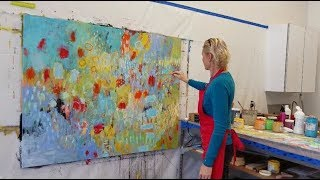 abstract / expressionism / intuitive painting - from start to finish