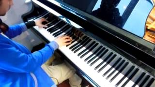 OMNIA & IRA - The Fusion ( Original mix ) Piano cover by Daniel