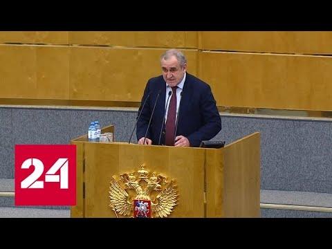 Госдума приняла закон о поправке к Конституции - Россия 24
