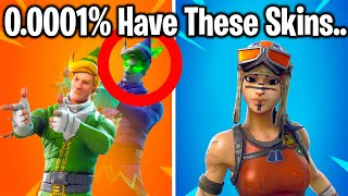 TOP 10 RAREST SKINS IN FORTNITE! (December 2019)