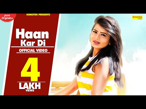 Haan Kar Di | Karishma Sharma | Saurabh Verma SV | Latest Haryanvi Songs Haryanvi 2019 | Sonotek