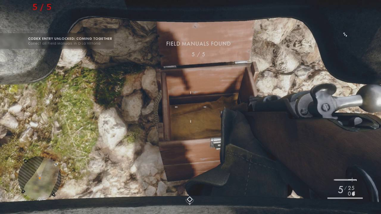 battlefield 1 hear the desert all field manual locations
