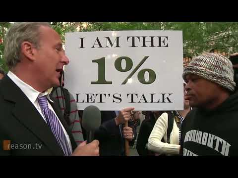 🔴 Peter Schiff at Occupy Wall Street  I am the 1%. Lets Talk