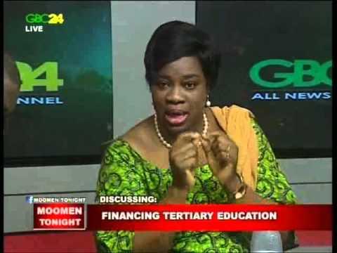 Financing Tertiary Education   Moomen Tonight GBC24
