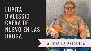 LUPITA D'ALESSIO CAERA DE NUEVO EN LAS DROGAS!!!