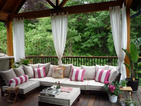 Stay Relaxed With Waterproof Outdoor Curtains