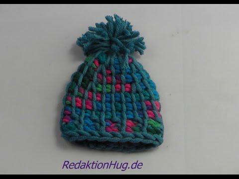 Tunesisch Häkeln Mütze Mini Aus Hatnut Wolle Veronika Hug Youtube