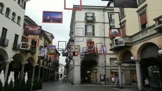 Novara, addobbi estivi in centro