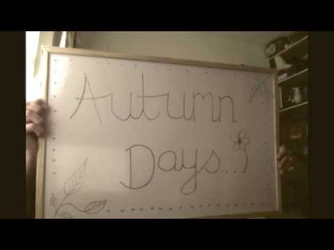 Autumn Days [Cover]