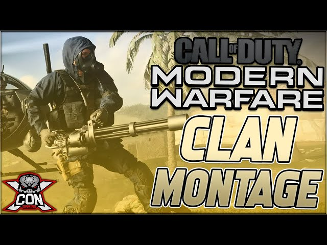 XCON GAMING Call of Duty Modern Warfare Clan Montage
