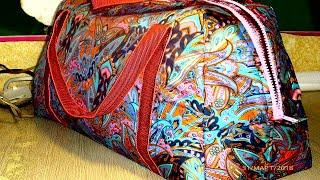 Удобная и красивая сумка своими руками.