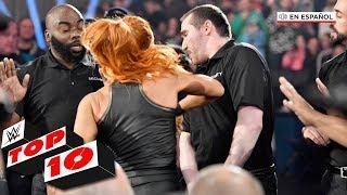 Top 10 Mejores Momentos de Raw En Español: WWE Top 10, Nov. 18, 2019