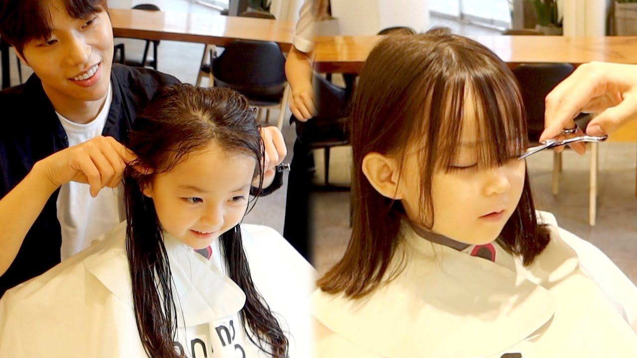 고민끝에 단발머리가 된 예콩이..💇🏼♀️ [예콩이TV]