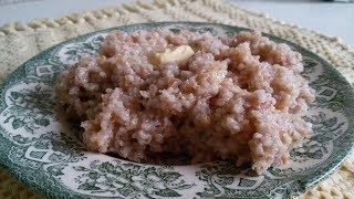 Пшеничная каша с маслом, классический рецепт приготовления