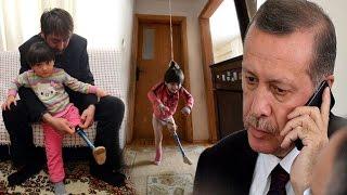 Cumhurbaşkanı Erdoğan'dan Özge'nin babasına: Her türlü desteği vereceğiz