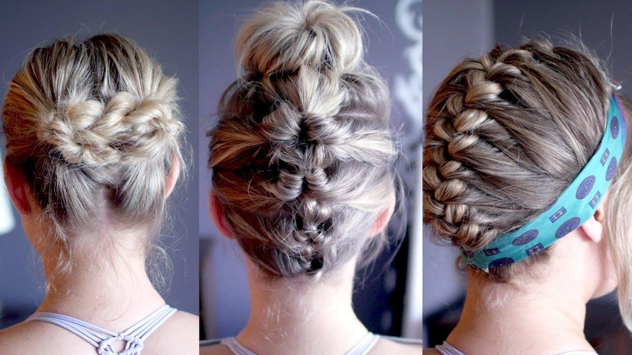 Heatless Hair Styles: EASY HEATLESS HAIRSTYLES FOR GREASY/OILY HAIR