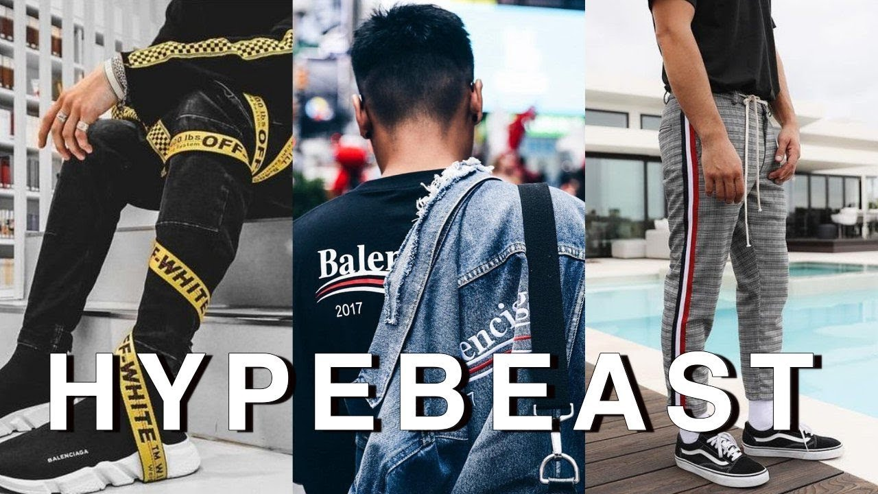 We will create and source you a hypebeast outfit plus give