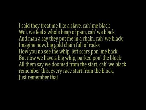 kendrick lamar Blacker the berry lyric video