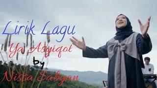 Lirik Lagu Ya Asyiqol by Nissa Sabyan