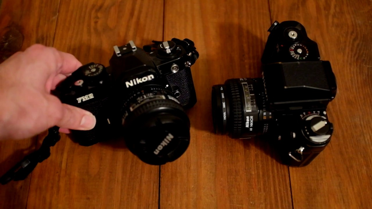 Electronic vs  Mechanical Shutters The Nikon FM2 and F3