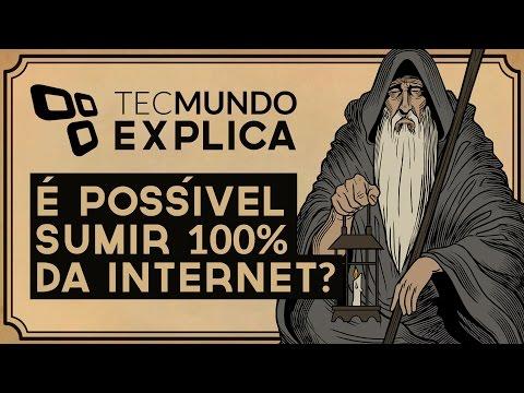 TecMundo Explica: É possível sumir completamente da internet?