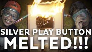 SILVER PLAY BUTTON MELELEH (BURNING OUR SILVER PLAY BUTTON) | Mati Penasaran #19