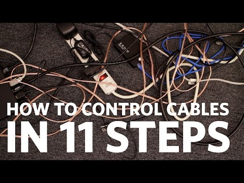 Easy Cable Management: Control Your Cables in 11 Steps