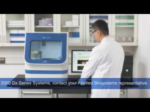 Applied Biosystems 3500 Series Genetic Analyzers for DNA Sequencing and Fragment Sizing