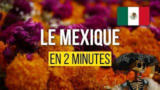 Visiter le Mexique en 2 minutes