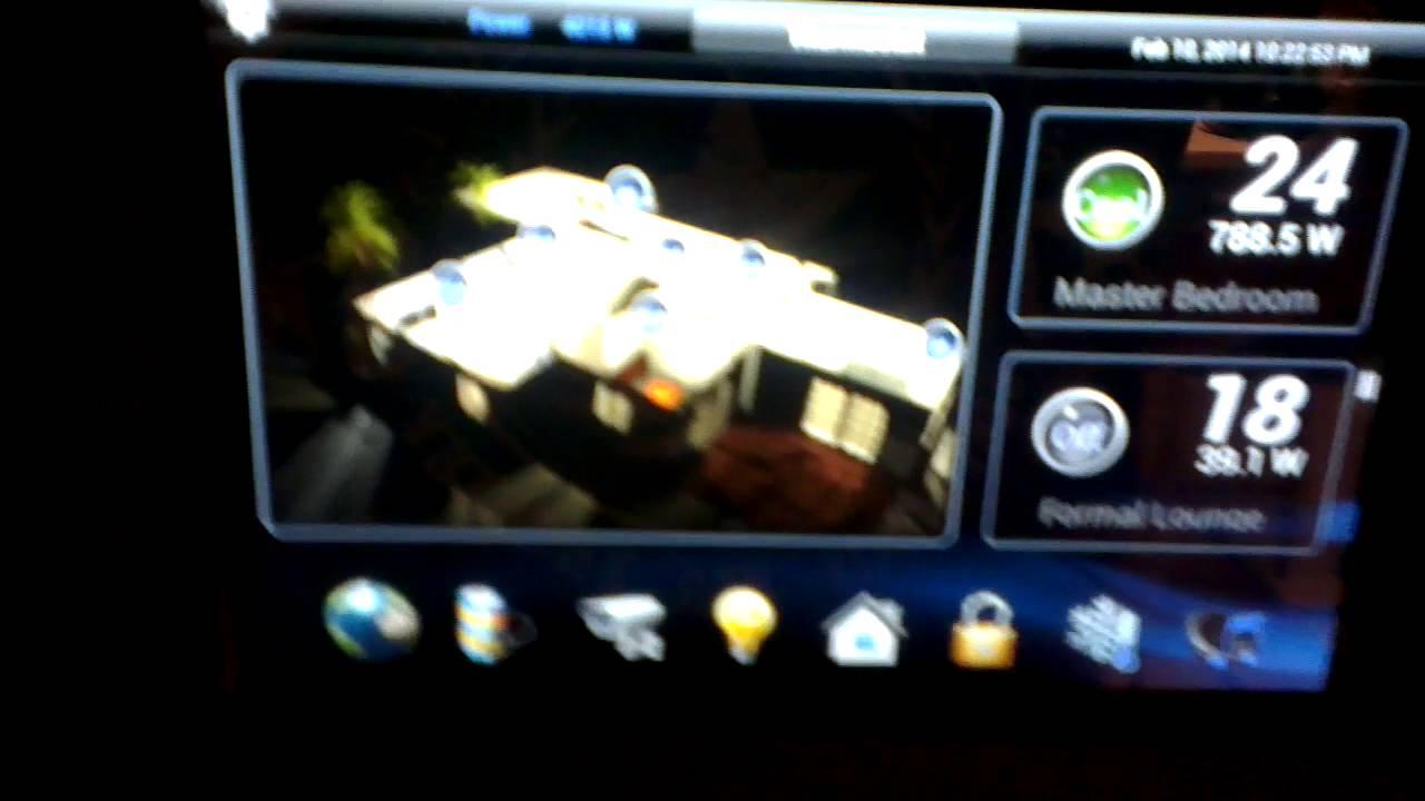 Custom Homeseer Hstouch Screen