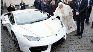 不花钱得一辆兰博基尼?  你会怎么做? 教皇居然和我想法一样!