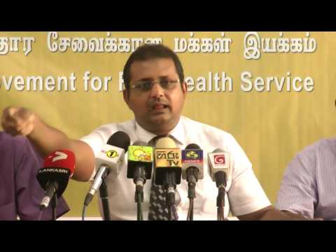 Press Conference of 'Movement for Free Health Service'- part 2