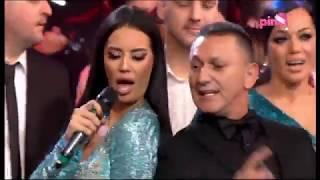 Katarina Grujic i Šako Polumenta - Bonjour  - Pinkovo Novogodišnje Veselje (Tv Pink 31.12.2018.)