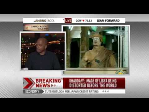 Gadhafi vows to die as a martyr in Libya   World news   Mideast N  Africa