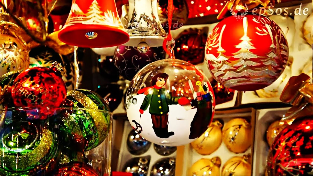 Beautiful Christmas Tree Decorations In Germany