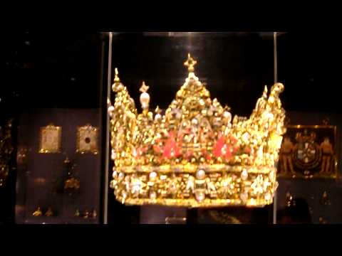 Christian IV's crown at Rosenborg Castle