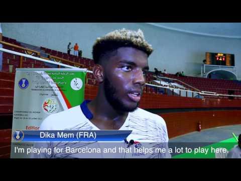 France 31:28 Sweden (Group B)   IHFtv Highlights & Interviews - Men's Junior WCh, Algeria 2017