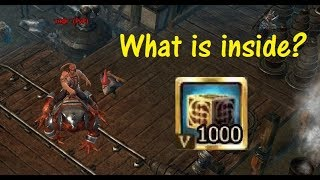 What is in 1000 Cubes (T5)? [Drakensang Online]
