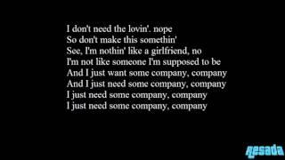 Tinashe Company Lyrics