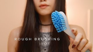ASMR Rough Mic Scratching & Brushing (No Talking)