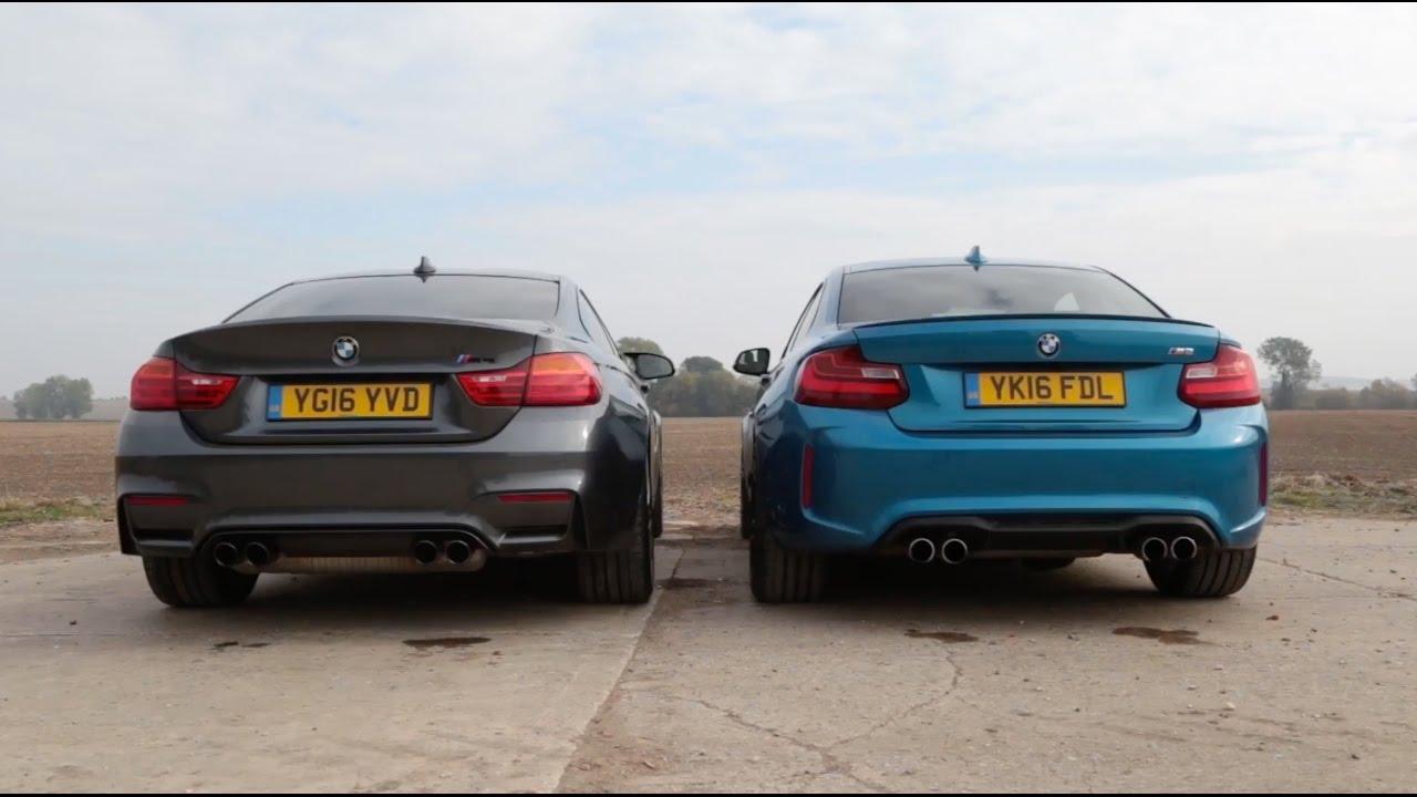 BMW M2 vs M4: Engine And Exhaust Sound Comparison