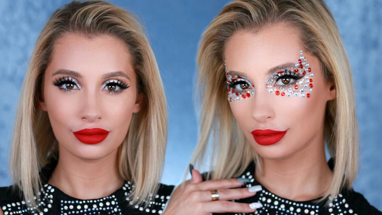 Lady Gaga Super Bowl Makeup Tutorial