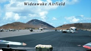 Landing at Ascension Island
