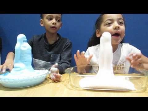 Seven Super Science Experiments - Elephant Toothpaste Exploding Volcano